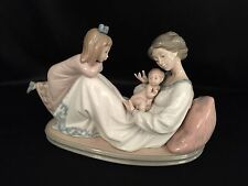 """Lladro """"Latest Addition"""" Family/Mother/Child/Christmas (1606 Mint Condition)"""