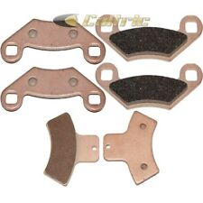 POLARIS SPORTSMAN 500 HO DUSE RSE 2001 2002 SINTERED FRONT & REAR BRAKE PADS