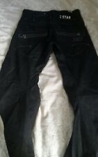 "MENS GENUINE G STAR RAW 3301 TWISTED TAPERED JEANS WAIST 30"" INSIDE LEG 28"" VGC"