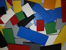 Lego 20 Basic Bauplatten Grundplatten Grundsteine Platte flach gemischt Konvolut