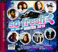 So Fresh The Hits of Winter 2019 CD NEW The Veronicas Amy Shark Dean Lewis