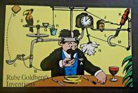 Mint Rube Goldbergs Inventions Comic Strip By R Goldberg Began Stamped Postcard