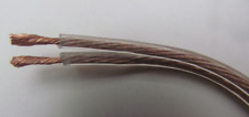 Transparent (16AWG) OFC Speaker Cable/Wire, Car Audio/Sub, Home Cinema, (5M).