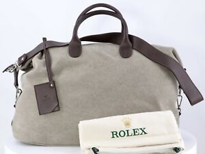 ROLEX TRAVEL BAG BOLSA BORSA WEEKEND VIP LEATHER PIEL EXCLUSIVE UNIQUE NEW CASE