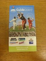 2007 Cricket: Lancashire County Cricket Club - Members Guide. If this item has a