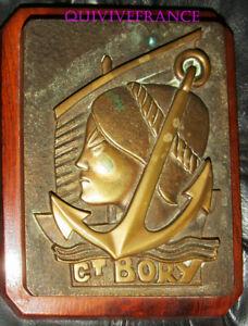 TB646 - TAPE DE BOUCHE Cdt BORY, Aviso Escorteur
