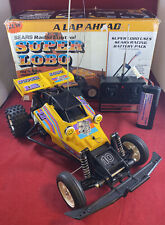 Vintage 1985 Sears Nikko RC Super Lobo w/ Remote, Battery, Charger & Box - Works