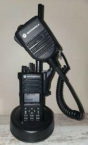 Motorola XPR 7550e VHF, Open box, includes shoulder mic, Programming