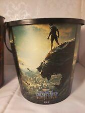 Black Panther Theater Exclusive 130oz Plastic Popcorn tub. RIP Chadwick Boseman