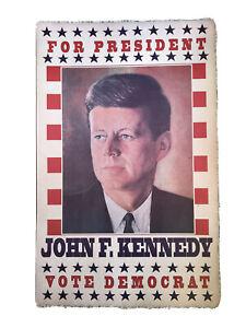 JFK Democrat Campaign Poster Print