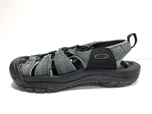 KEEN Newport H2 Mens Size 10.5, Gray Waterproof Hiking Sandals