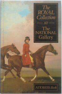 Address Book ROYAL COLLECTION AT THE NATIONAL GALLERY London 1991 Color Artwork