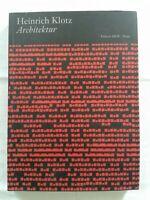 Architektur - Texte zur Geschichte, Theorie und Kritik des Bauens, Publikation