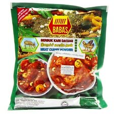 250g Babas Meat Curry Powder. ORIGINAL HOT AND SPICY. TOP MALAYSIAN CURRY POWDER