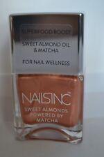 Nails Inc Sweet Almond Oil & matcha nail polish Mayfair Market 14ml RRP £14.00