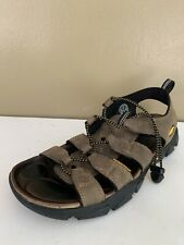Keen Dakota Mens Size 10 Bison Waterproof Brown Leather Hiking Sport Sandals