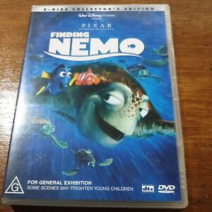 Finding Nemo DVD R4 VERY GOOD - FREE POST