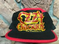 Ozzy Osbourne NEW 1982 Diary Of A Madman Bat Painter's Hat Cap EXTREMELY RARE