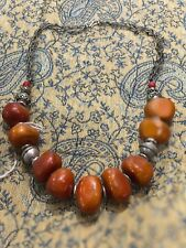 amber necklace Moroccan handmade