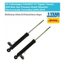 2PCS Fit Volkswagen Passat Alhambra Suspension Shock Absorbers Rear Electronic