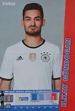 ILKAY GÜNDOGAN - A3 Poster (ca. 42 x 28 cm) - Fußball EM 2016 Clippings Sammlung