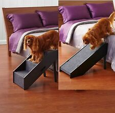New Pet Step Convertible Portable Stairs and Ramp Dog Cat Easy Folding for Bed
