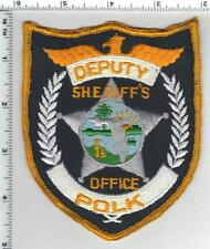 Polk County Sheriff's Office (Florida) shoulder patch - from the 1980s