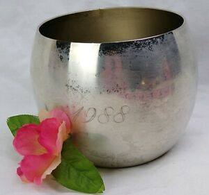 FB Rogers Cup Silver Plated 7 1/4 Inch bowl 1988 on front