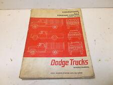 Mopar USED Service Manual 66 Dodge Trucks 100-800