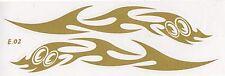 A106 stickers symétriques tuning - Tribal cartoon 25 cm