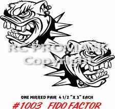 RC Body Paint Mask Short Course 1003 FIDO FACTOR SC10 TC6 Durango Losi Traxxas