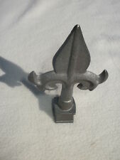 "Cast Iron Spear, Finial, Spire, Ornamental Fence Topper 1/2"" each 227"