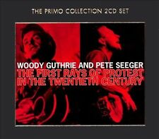 Woody Guthrie & Pete Seeger / First Rays of Protest in 20th Century BRAND NW 2CD