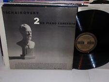 NIKOLAYEVA Tchaikovsky 2nd Piano Concerto Complete LP