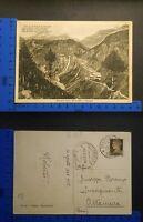 PASSO DELLO SPLUGA (SO) ITALIA/SVIZZERA - PANORAMA E CASCATA - RARA - 18418