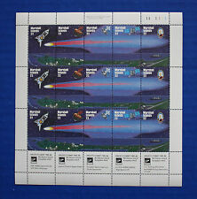 Marshall Islands (#86-90) 1985 Halley's Comet MNH sheet