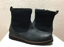 UGG MEN HENDREN TL BLACK WATERPROOF LEATHER Boot US 13 / EU 47 / UK 12