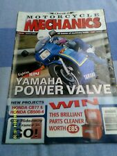 classic motorcycle mechanics(march2000)kawa Z650/honda 500/kawa GPZ750/RD350LC