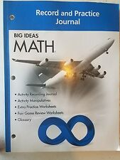 Big Ideas Math Record and Practice Journal Course 3 California Common Core