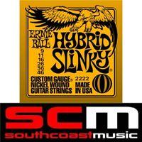 HYBRID SLINKY 2222 ERNIE BALL ELECTRIC GUITAR STRINGS SET 9-46 STRINGS
