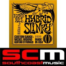HYBRID SLINKY 2222 ERNIE BALL ELECTRIC GUITAR STRINGS SET 9-46 STRINGS