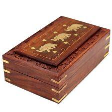 Craftgasmic Jwellery Box Wooden Designer gift Showpiece 8X5 Inch