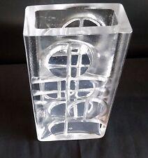1963 PEILL & PUTZLER GLASS VASE  MODERNISTE