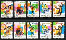 Australian 1999 Children's TV, 10 stamps, used