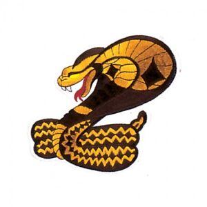 "Cobra Martial Arts Patch - 6"""