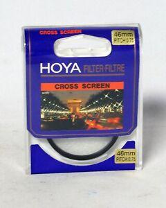 Hoya 46mm Cross Screen Filter NEW NOS 35mm SLR Film DSLR Digital