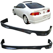Fits 02-04 Acura RSX DC5 Black Poly Urethane Rear Bumper Lip Spoiler Bodykit