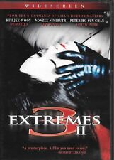 3 Extremes Ii Dvd Horror Used Very Good Hard To Find