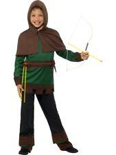 Boys Robin Hood Costume Fancy Dress Medium 7-9 Book Day Sherwood Medieval