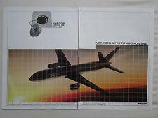 8/1981 PUB BOEING 757 AIRLINER FUEL SAVER AIRLINES AVIATION ORIGINAL AD
